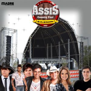 Cartaz de divulgação da 'Assis Country Fest' (Foto: Reprodução/Internet)