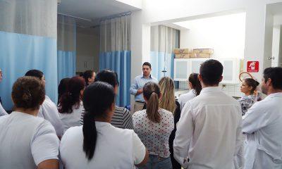 Enfermagem da Santa Casa de Assis participa de treinamento (Foto: Divulgação)