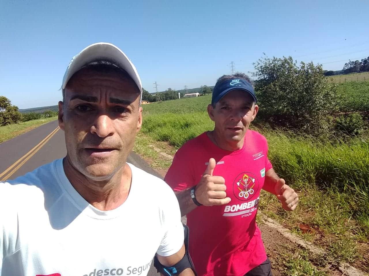 Marcelo Vieira Leme, de 47 anos, irá correr na maratona do rio neste final de semana (Foto: Arquivo Pessoal)