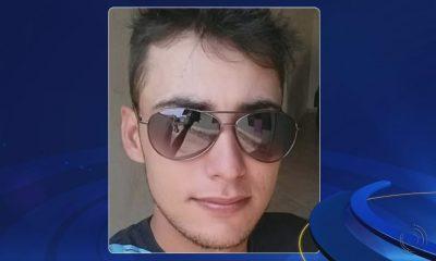 Brian foi morto por tiro disparado por policial durante abordagem em Ourinhos (SP) — Foto: TV TEM/Reprodução