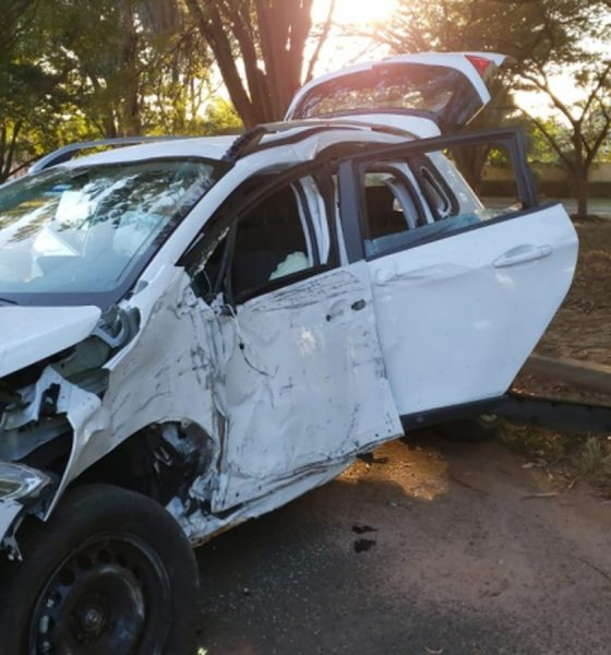 Jovem de 18 anos morreu após bater o carro contra poste dentro de condomínio de luxo em Bauru (SP) — Foto: Arquivo Pessoal