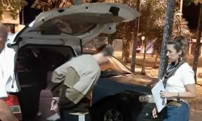 Suspeito teve a prisão decretada na manhã desta quarta-feira (12). Ele foi preso em Garça e encaminhado para Marília. — Foto: Polícia Civil/Divulgação