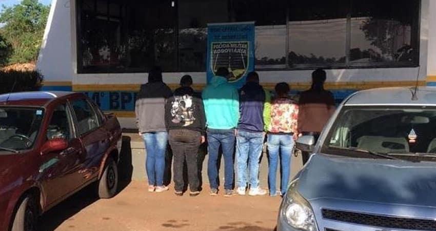 Moradoras de Paraguaçu Paulista são presas com 340 kg de maconha no MS