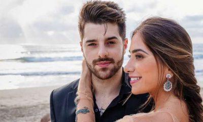 O DJ Alok e a esposa Romana Novais vão ser pais
