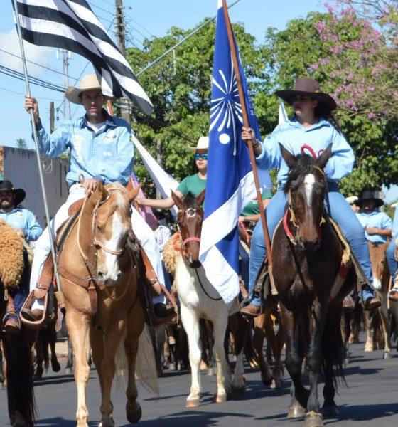 Tradicional Cavalgada da Ficar será no domingo (Foto: Divulgação)