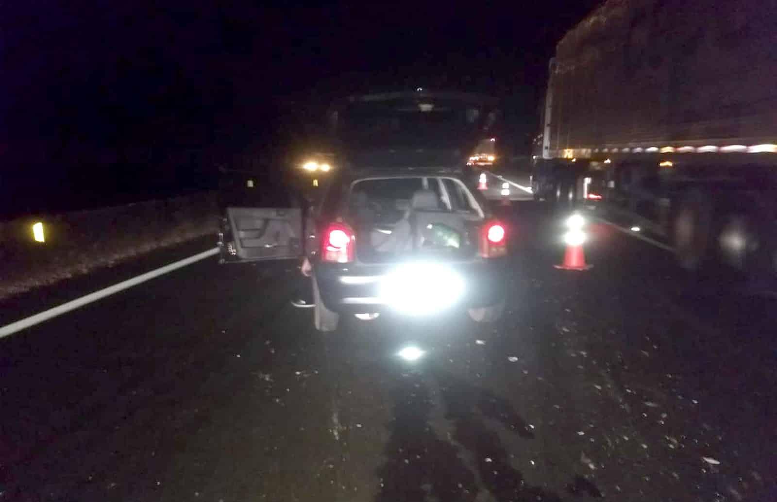 Acidente aconteceu no quilômetro 437 da Rodovia Raposo Tavares, em Assis (Foto: Ricardo Oliveira/The Brothers/Divulgação)