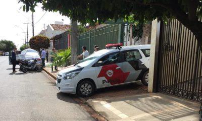 Homem que arrematou a casa em um leilão foi morto pelo antigo proprietário quando conhecia o imóvel em Bariri (SP) (Foto: Diego Santos/Bariri Rádio Clube)