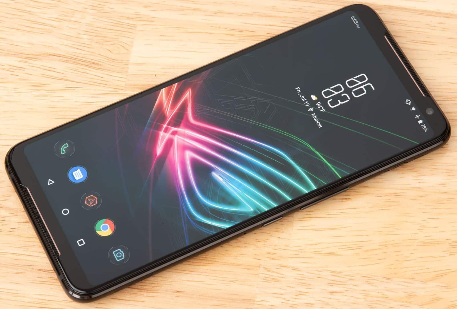 ROG Phone 2: Asus aposta em tela de 120 Hz — Foto: Divulgação/Asus