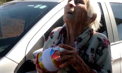 Dona Conceição é apaixonada por soltar pipa — Foto: Reprodução/Facebook