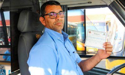 Transporte Escolar do Município têm autorização renovada pelo DETRAN (Foto: Departamento de Comunicação)