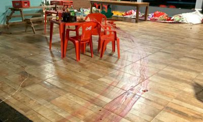 Crime aconteceu durante churrasco em uma chácara em Cândido Mota (Foto: Arquivo pessoal)