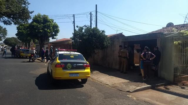 Dois homens foram presos suspeitos do crime (Foto: Alberto D'Angele/RPC)