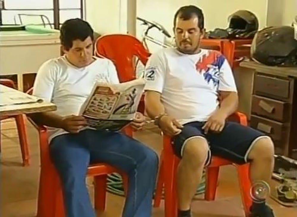 Os irmãos Cristiano e Adriano Aparecido Augusto foram presos em 2012, mais de quatro anos após o crime (Foto: TV TEM/Reprodução/Arquivo)