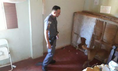 Homem é preso por prender e torturar mulher com choques elétricos em chácara em Santa Cruz do Rio Pardo (Foto: Polícia Militar/Divulgação)