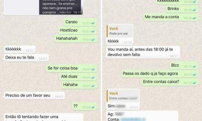 Homem teve celular clonado em Santos, SP, e irmão caiu em golpe no WhatsApp — Foto: Arquivo pessoal