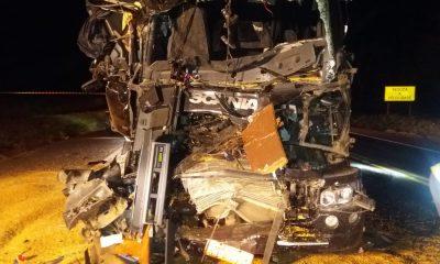Batida foi registrada em Taciba — Foto: Polícia Rodoviária/Cedida