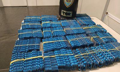 Polícia Rodoviária apreende 20 mil comprimidos de estimulante sexual em rodovia de Ourinhos (Foto: Polícia Rodoviária/Divulgação)