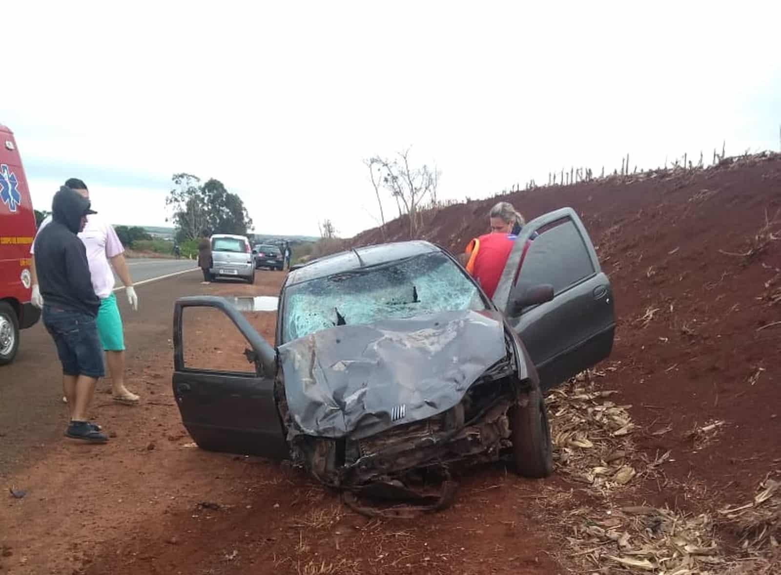 Jovens foram atropelados em Santa Cruz do Rio Pardo (Foto: Arquivo pessoal)