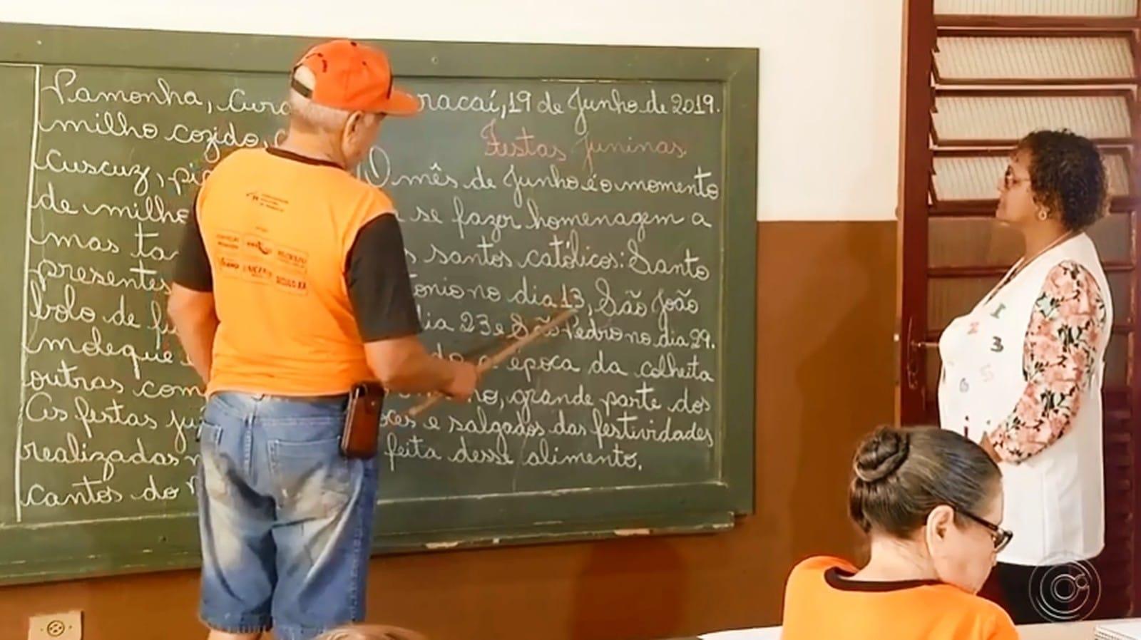 Único requisito para fazer parte do 'Alegria de Saber' é ter vontade de aprender — Foto: Reprodução/TV TEM