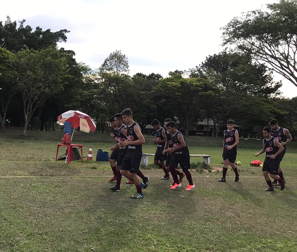 Time avalia atletas para formar a equipe sub-20 para 2020 (Foto: Divulgação)