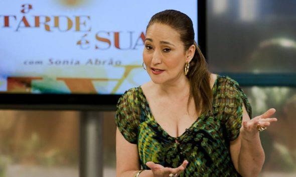 Sônia Abrão é internada em hospital de São Paulo (Foto: Divulgação/RedeTV!)
