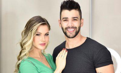 Andressa e Gusttavo Lima (REPRODUÇÃO/INSTAGRAM )