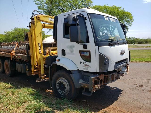 Segunda a polícia, caminhão saía de uma usina quando bateu no veículo — Foto: Polícia Civil/Divulgação