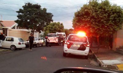 Leitor do MN flagrou movimentação da polícia (Foto: Divulgação)