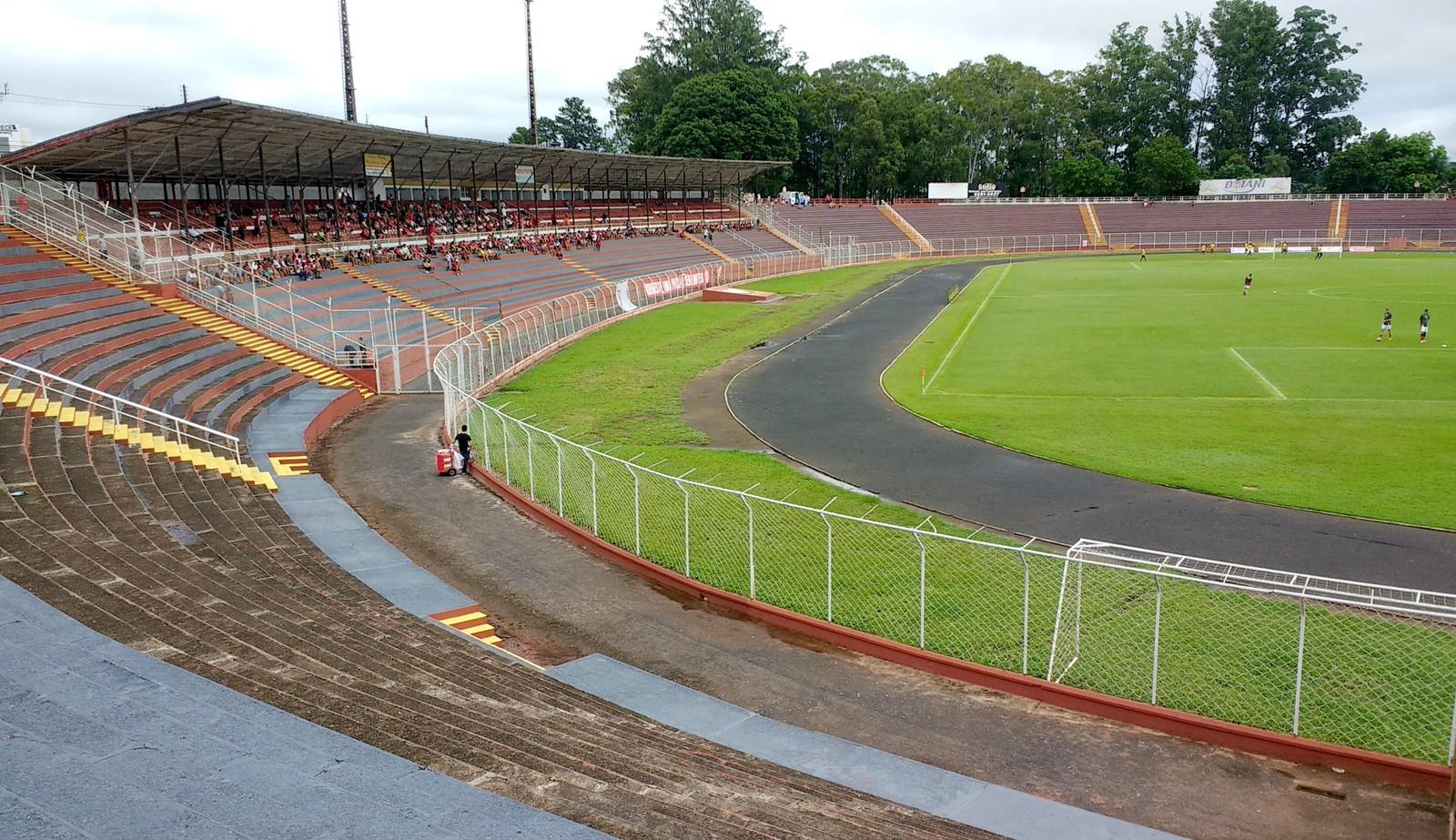Estádio Alfredão, em Bauru — Foto: Sérgio Pais
