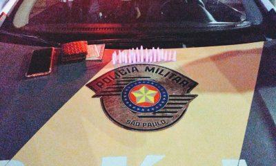 Suspeito escondeu 32 pinos de cocaína na cueca e foi preso na Rachid Rayes entre Marília e Echaporã — Foto: Polícia Rodoviária / Divulgação