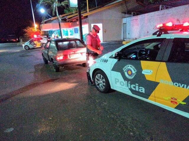 Apreensão foi na Rodovia Rachid Rayes — Foto: Polícia Rodoviária / Divulgação