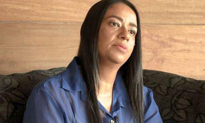 Simone Garcia tenta encontrar sua verdadeira família (Foto: Reprodução/TV Gazeta)