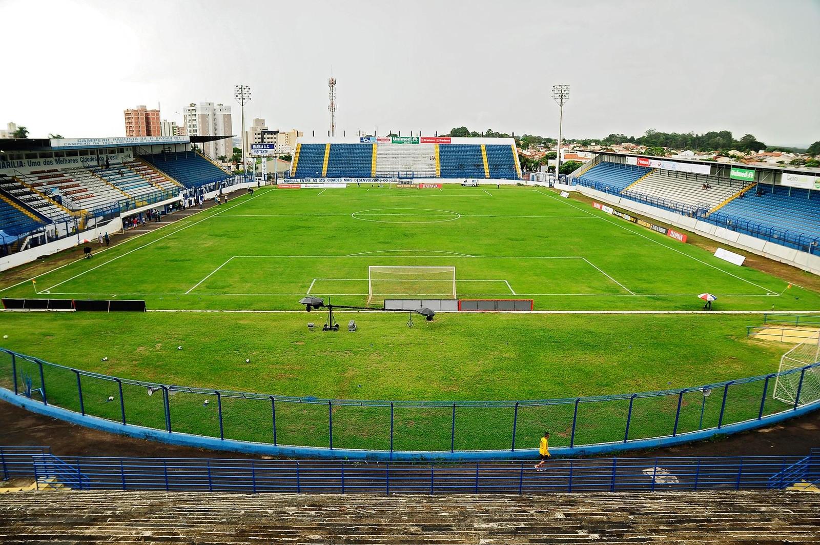 Estádio Bento de Abreu, em Marília — Foto: Rodrigo Villalba / Memory Press