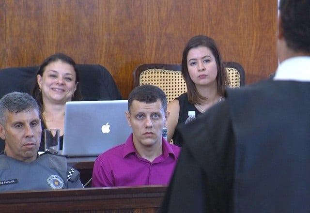 Bruno foi condenado por homicídio culposo, quando não há intenção de matar — Foto: Reprodução/TV TEM