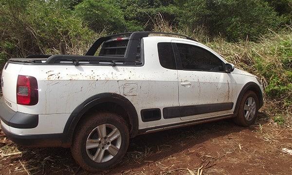 Veículos roubados durante assalto em Cândido Mota são localizados (Foto: Divulgação)