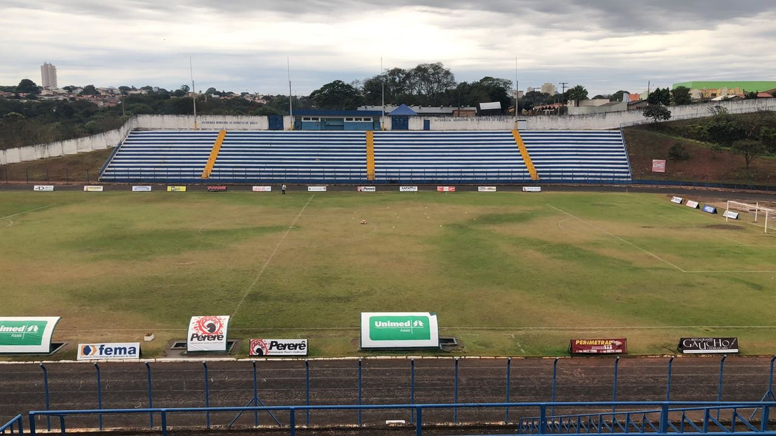 Estádio Tonicão irá receber a Copinha — Foto: Wendell Giuli / Cedida