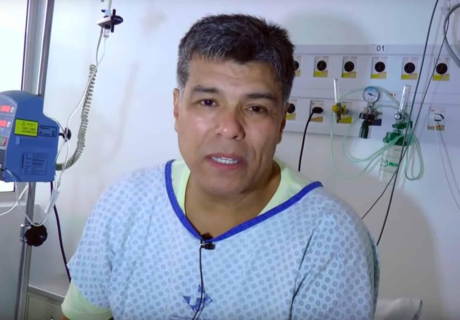 Mauricio Mattar passou por cateterismo em hospital de Botucatu (SP) — Foto: Divulgação