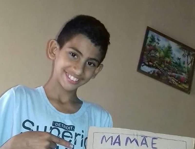 Menino de 12 anos está desaparecido em Paraguaçu Paulista (Foto: Divulgação)