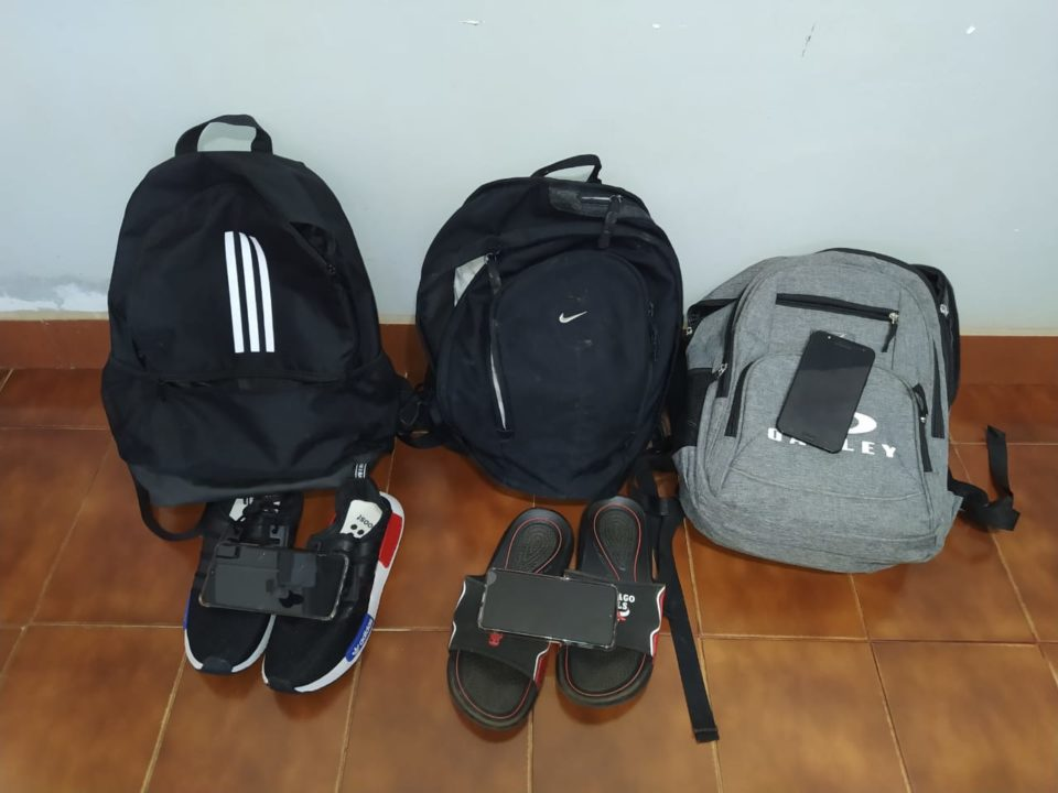 Objetos furtados foram recuperados (Foto: Divulgação)