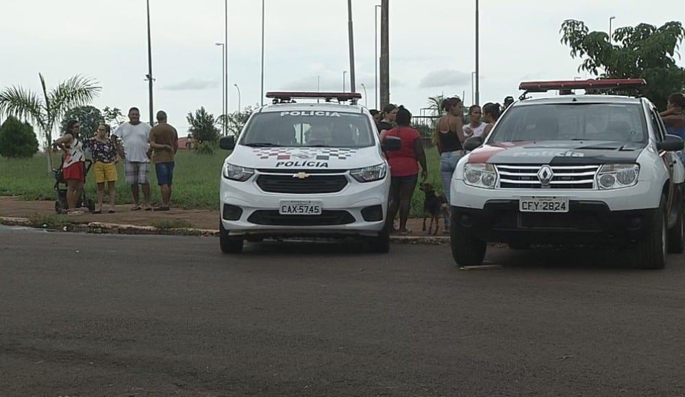 O desaparecimento de Emanuelle mobilizou a polícia, voluntários e moradores de Chavantes — Foto: Reprodução/TV TEM