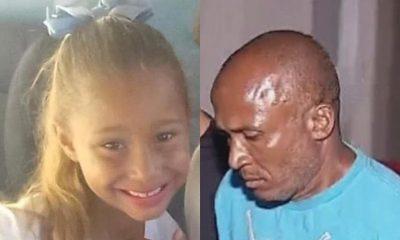 Emanuelle de 8 anos foi morta a facadas por vizinho, em Chavantes — Foto: Reprodução/Facebook/TV TEM