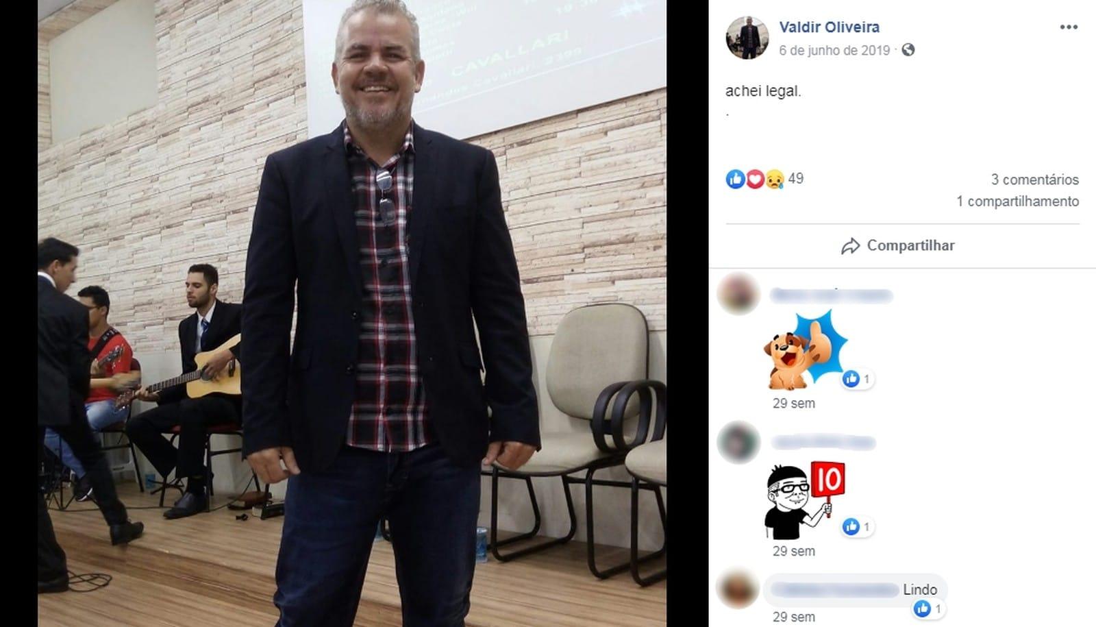 Homem morre atropelado enquanto chegava para culto de fim de ano em Marília — Foto: Reprodução/Facebook