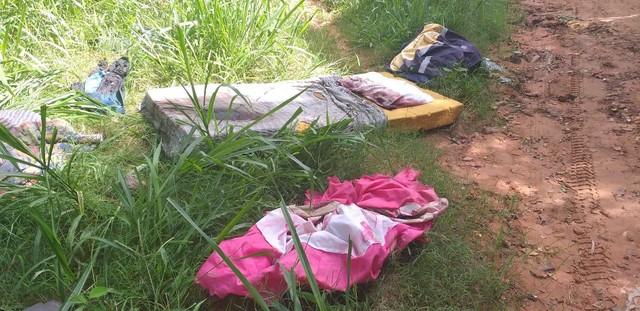 Vestígios de sangue foram encontrados em objetos de Fernandão. Crime ocorreu em Guaimbê — Foto: J. Serafim/Divulgação