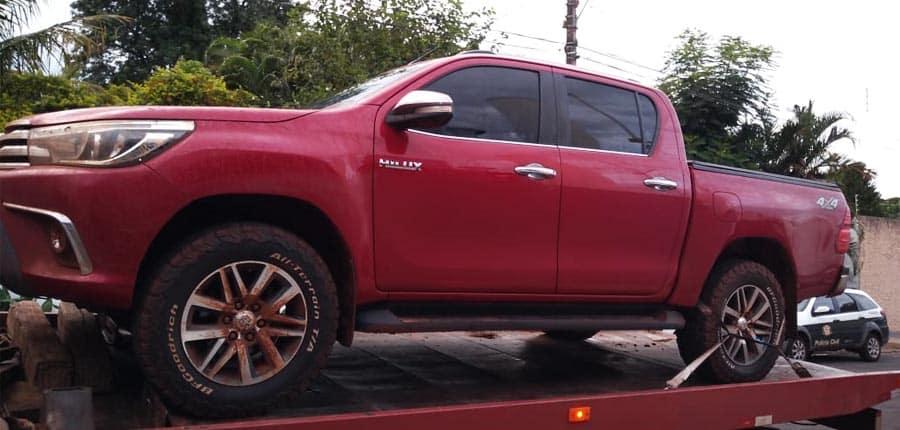 Veículo havia sido roubado no último dia 02, em um sítio em Paraguaçu Paulista