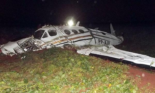 Queda de avião há 7 anos em Cândido Mota foi causada por fenômeno meteorológico (Fotos: O Diário do Vale)