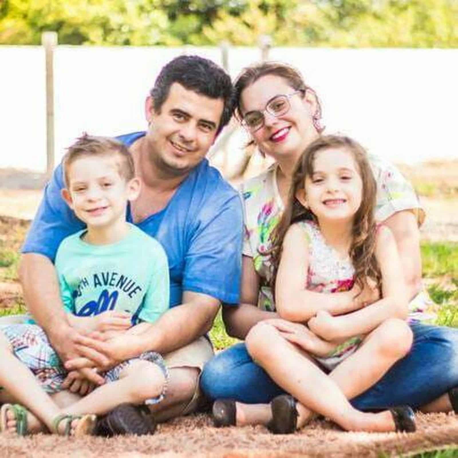 Família de criança diagnosticada com doença degenerativa faz apelo por doador de medula óssea — Foto: Arquivo Pessoal/Lídia Pignataro