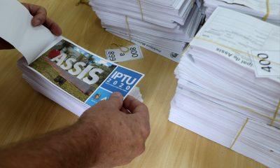 Prefeitura de Assis divulga datas, descontos e locais para pagar o IPTU 2020 — Foto: Prefeitura de Assis/Divulgação
