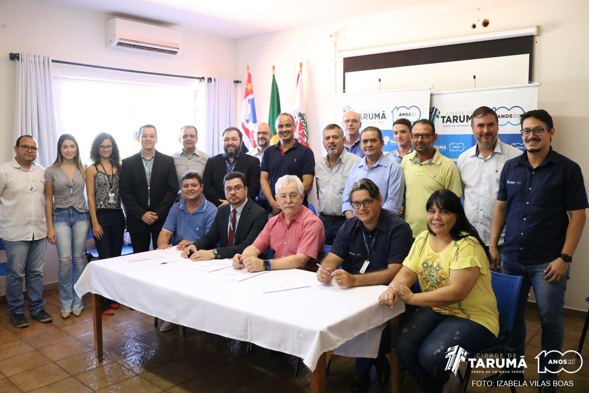 Tarumã assina duas importantes parcerias com a Caixa Econômica Federal
