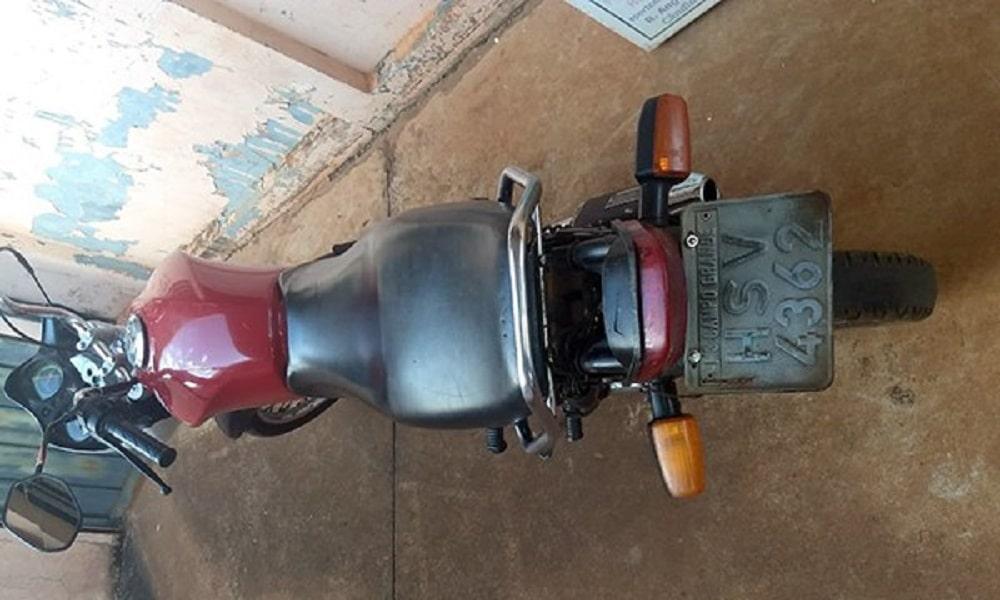 Polícia Militar de Cândido Mota recupera moto furtada em 2019(Foto: Reprodução/O Diário do Vale)