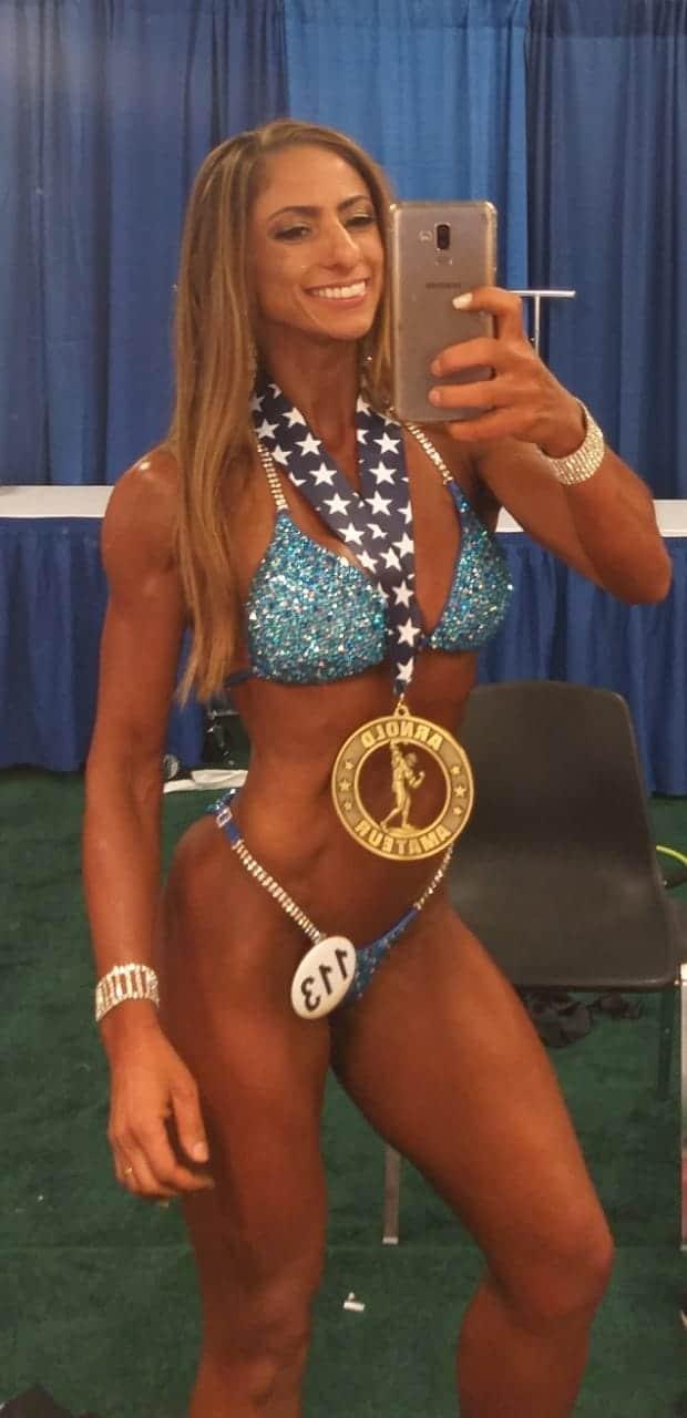Fabiana Alves é bronze no Arnold Sports Festival nos EUA (Foto: Divulgação)